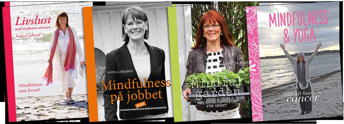 Böcker Mindfulness Anita Carlsson